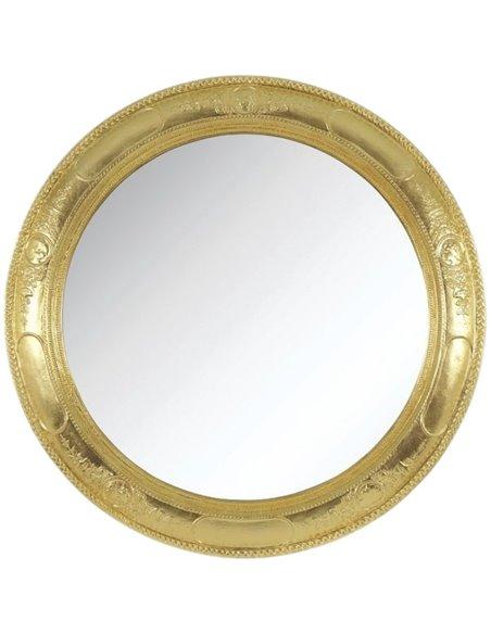 26356 Зеркало CDB круглое (Золото сусальное)