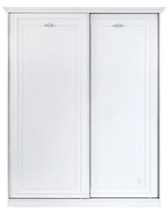 Шкаф Cilek Romantica большой со сдвижными дверями