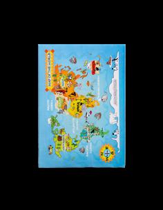 Ковер Cilek Carpet Series SOFT GRAVITY WORLD