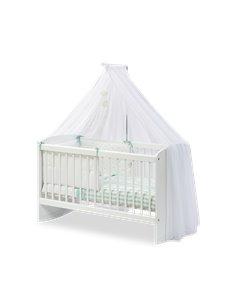 Колыбель Cilek Series Cribs Customary Cradle White (50x100 Cm)